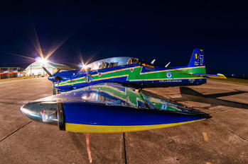 """1308 - Brazil - Air Force """"Esquadrilha da Fumaça"""" Embraer EMB-312 Tucano T-27"""