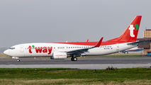 HL8378 - T'Way Air Boeing 737-800 aircraft