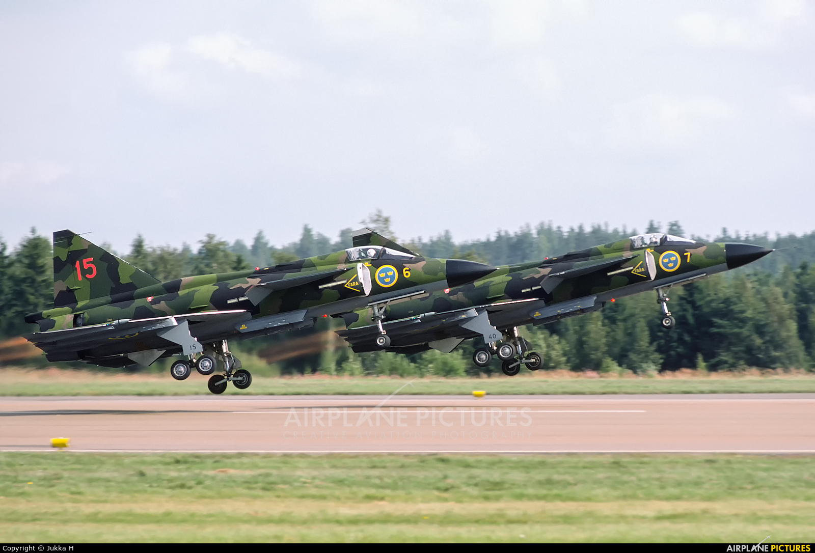 Sweden - Air Force 37102 aircraft at Helsinki - Vantaa