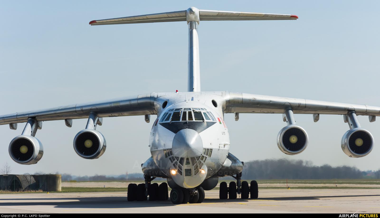 Ruby Star Air Enterprise EW-412TH aircraft at Pardubice