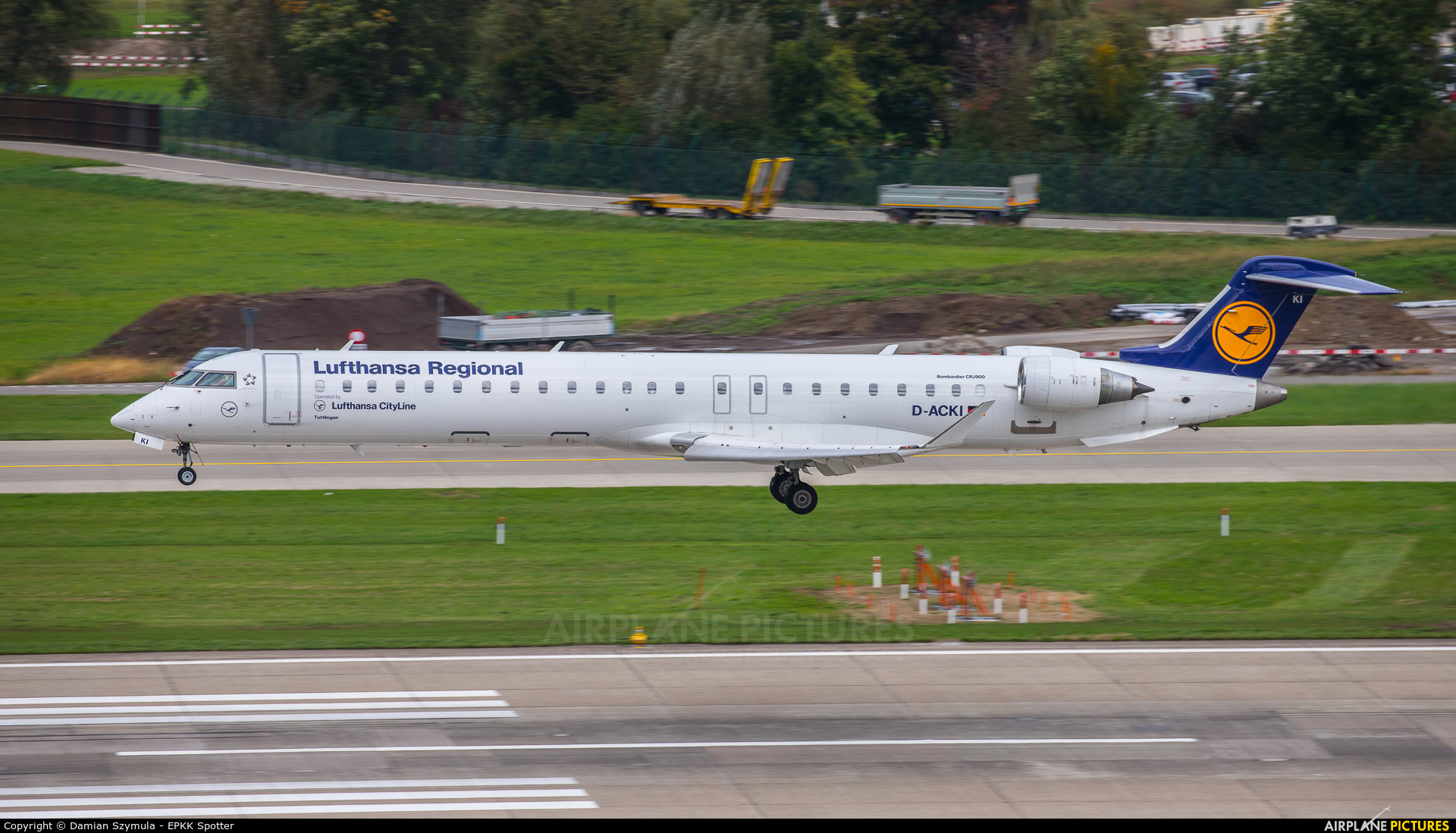 Lufthansa Regional - CityLine D-ACKI aircraft at Zurich