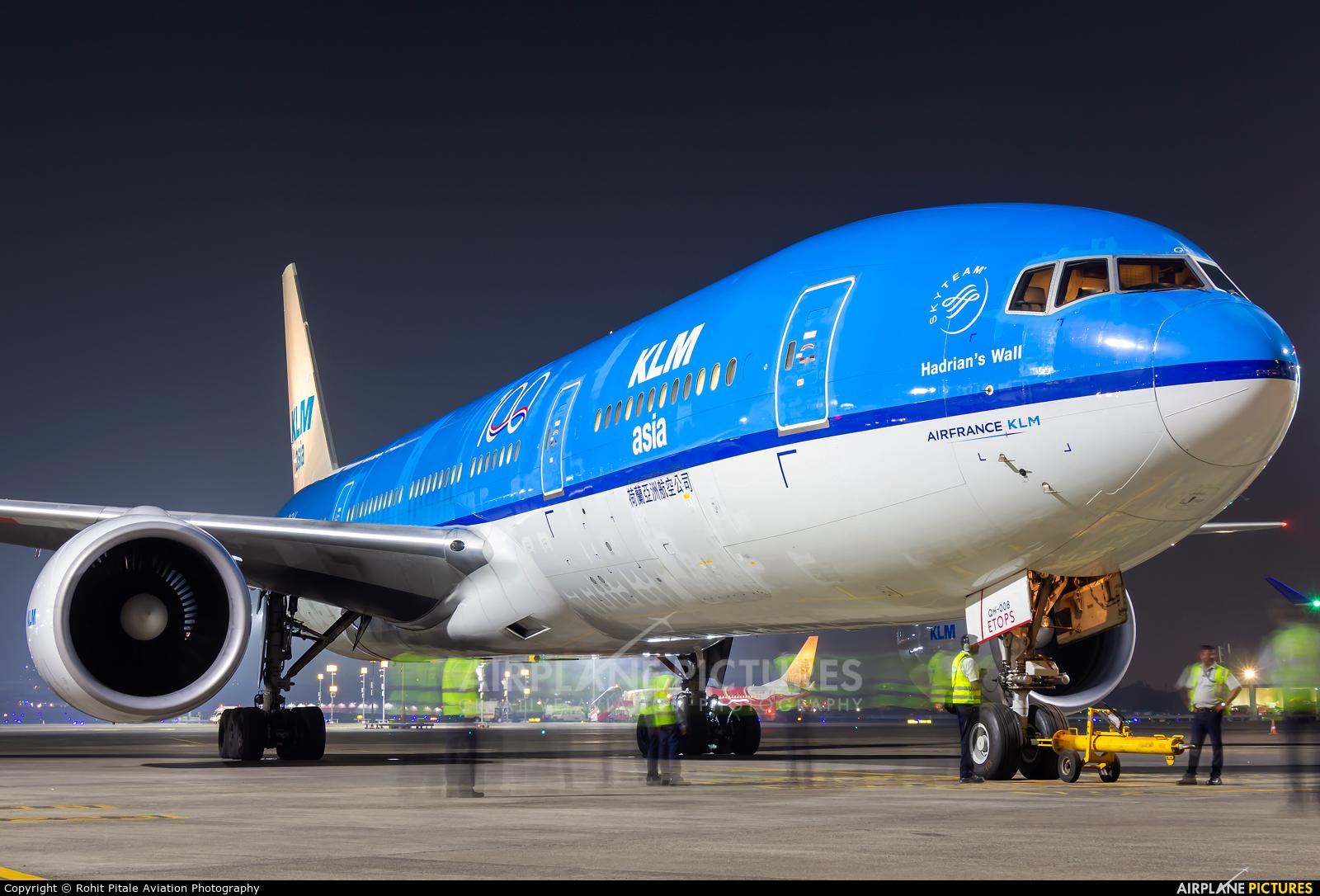 KLM Asia PH-BQH aircraft at Mumbai - Chhatrapati Shivaji Intl
