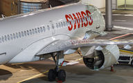 HB-JCN - Swiss Bombardier CS300 aircraft