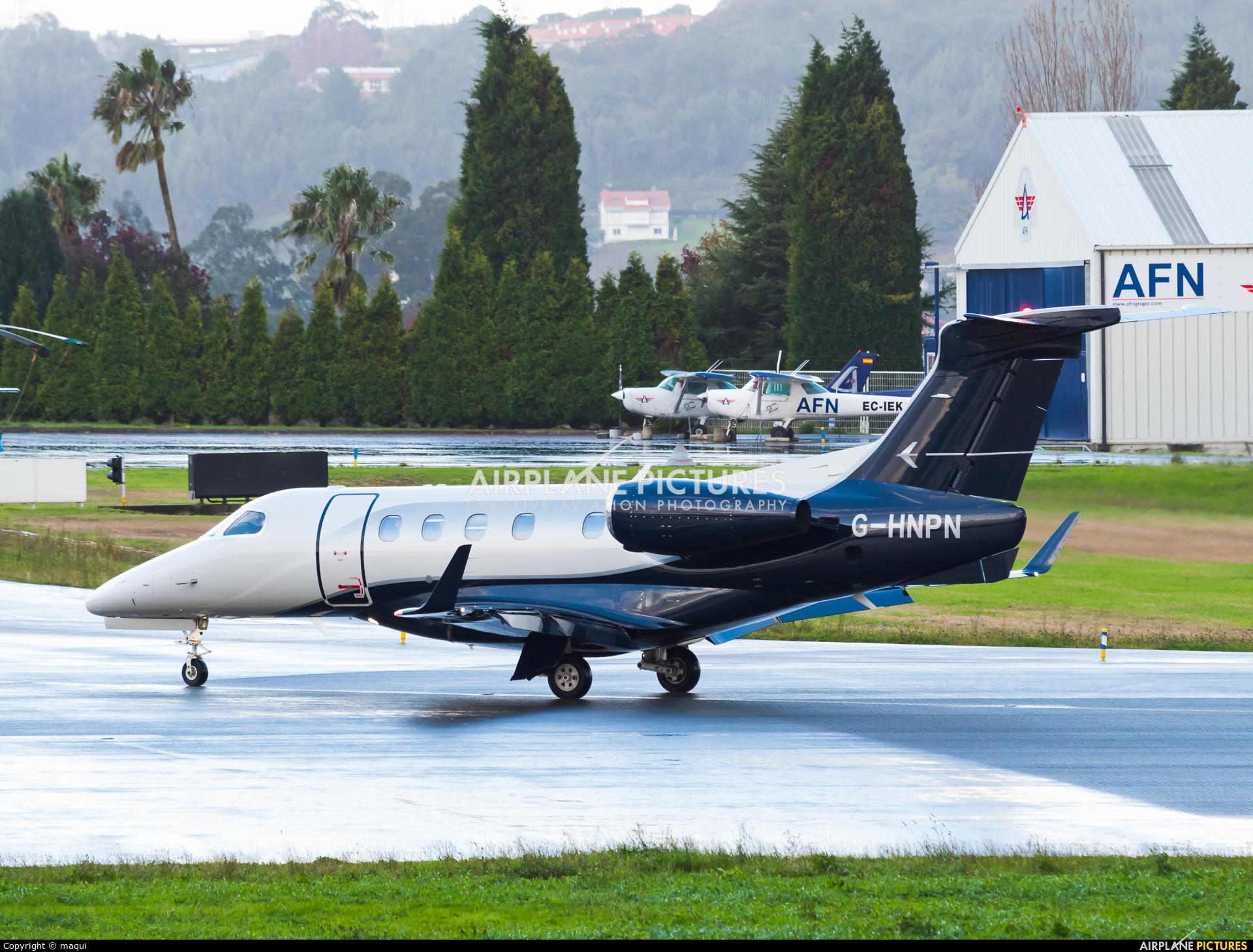 Flairjet G-HNPN aircraft at La Coruña