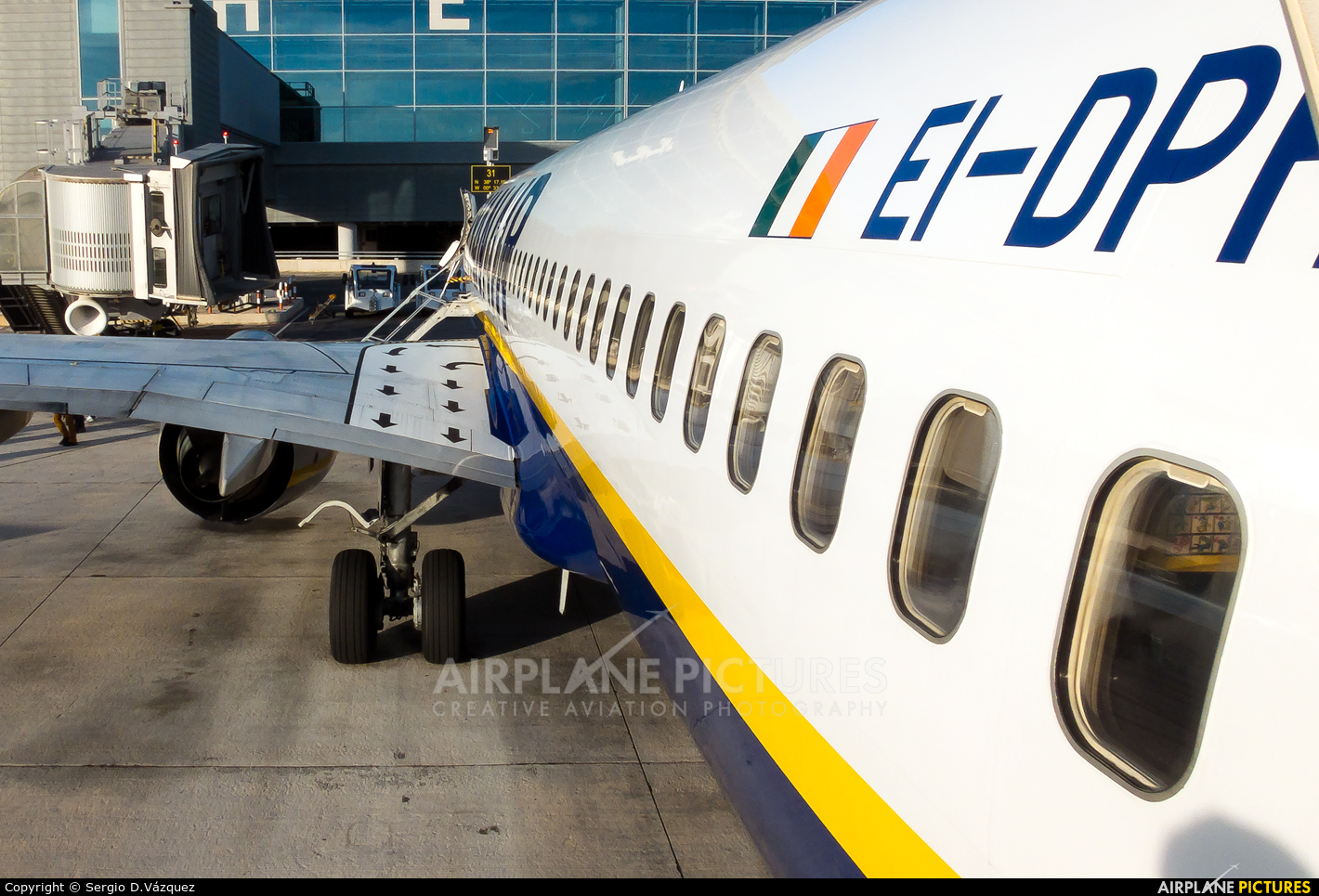 Ryanair EI-DPH aircraft at Alicante - El Altet