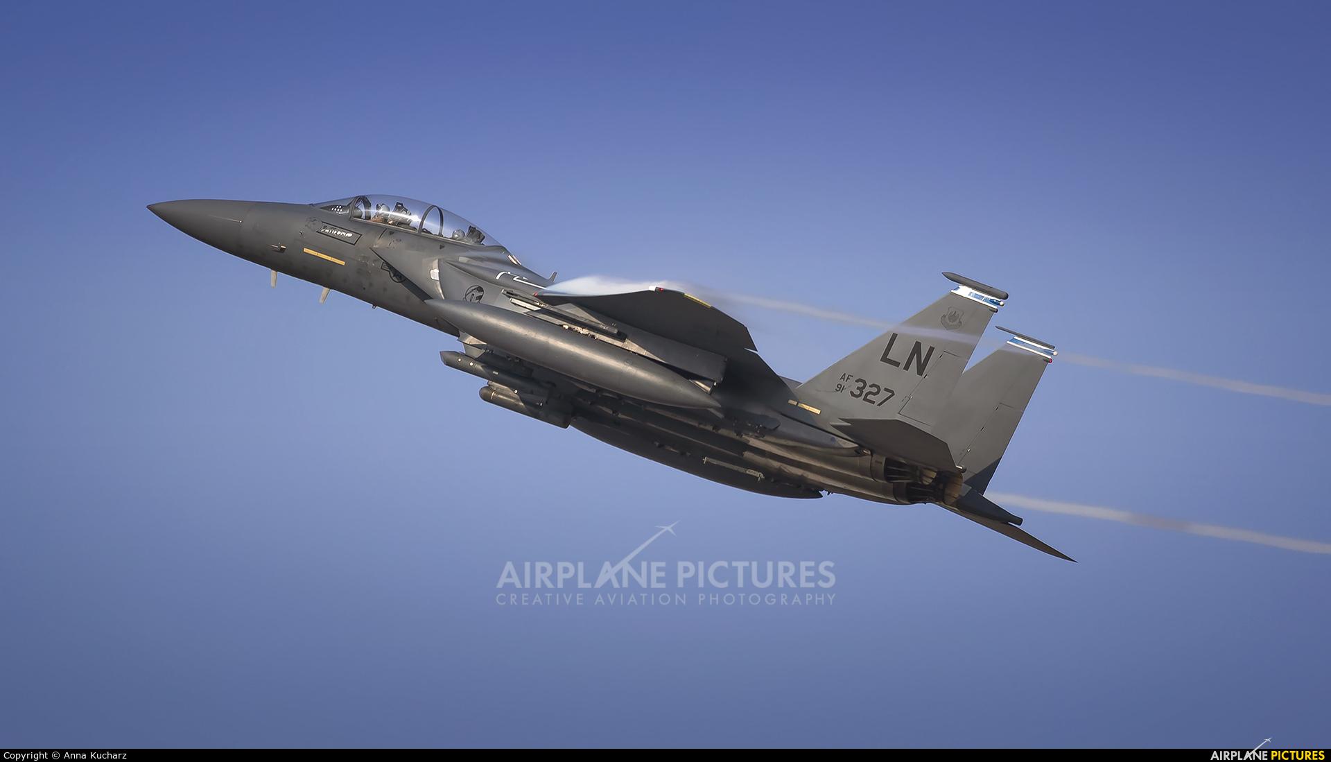 USA - Air Force 91-0327 aircraft at Jebel Ali Al Maktoum Intl