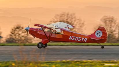 N205YR - Private Aviat A-1 Husky