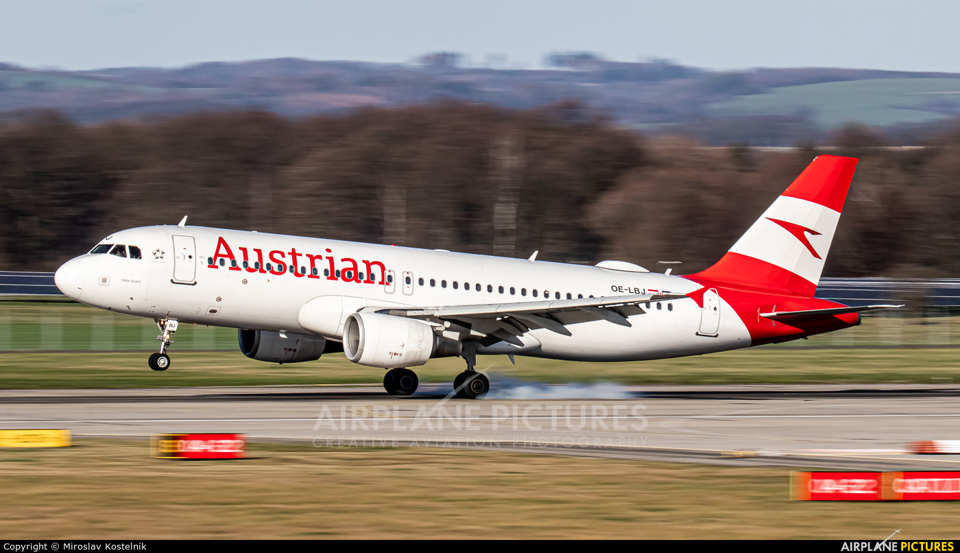 Austrian Airlines/Arrows/Tyrolean OE-LBJ aircraft at Ostrava Mošnov
