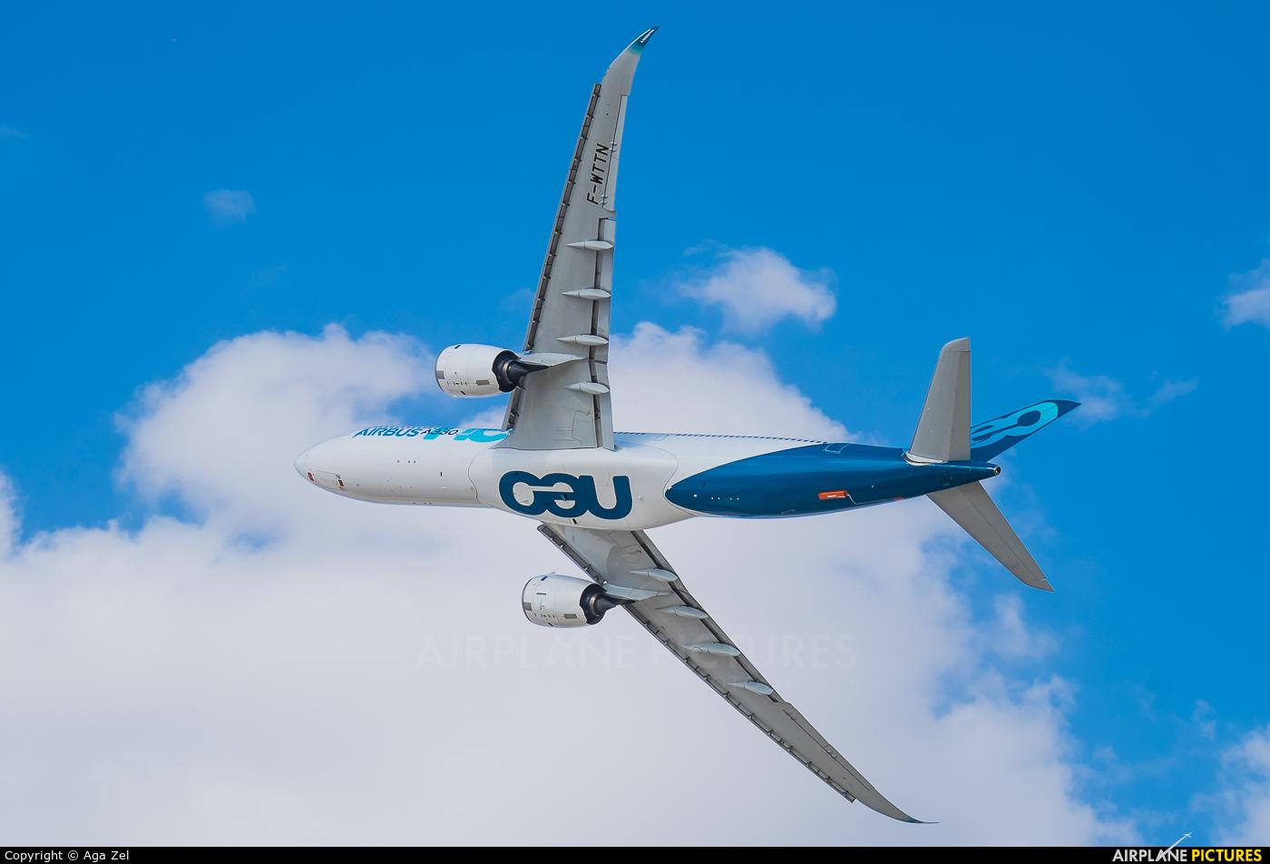 Airbus F-WTTN aircraft at Jebel Ali Al Maktoum Intl