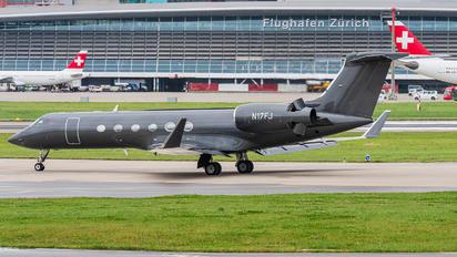 N17FJ - Private Gulfstream Aerospace G-V, G-V-SP, G500, G550