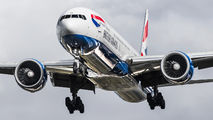 G-STBI - British Airways Boeing 777-300ER aircraft