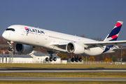 PR-XTI - LATAM Airbus A350-900 aircraft