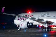 A7-ANA - Qatar Airways Airbus A350-1000 aircraft