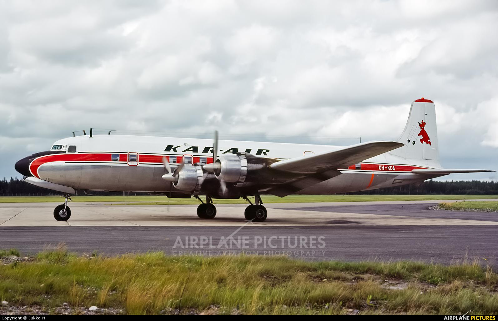 Kar-Air OH-KDA aircraft at Helsinki - Vantaa