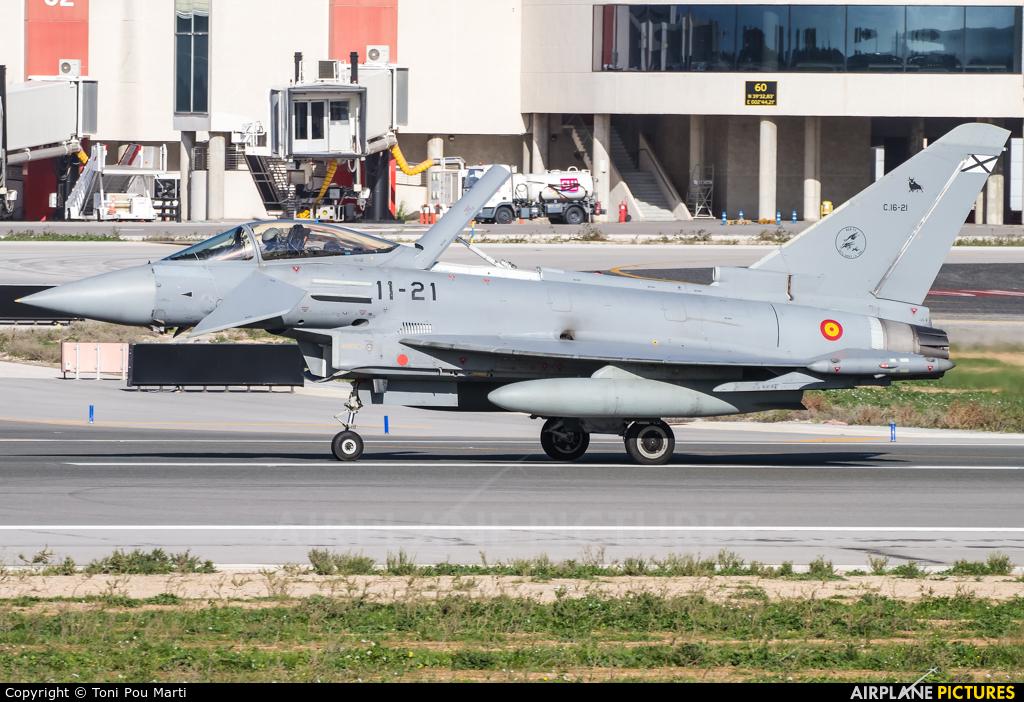 Spain - Air Force C.16-21 aircraft at Palma de Mallorca
