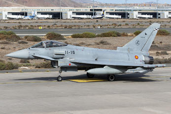 C.16-40 - Spain - Air Force Eurofighter Typhoon
