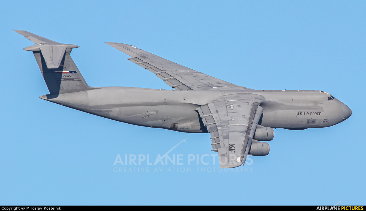USA - Air Force 87-0027 aircraft at Ostrava Mošnov