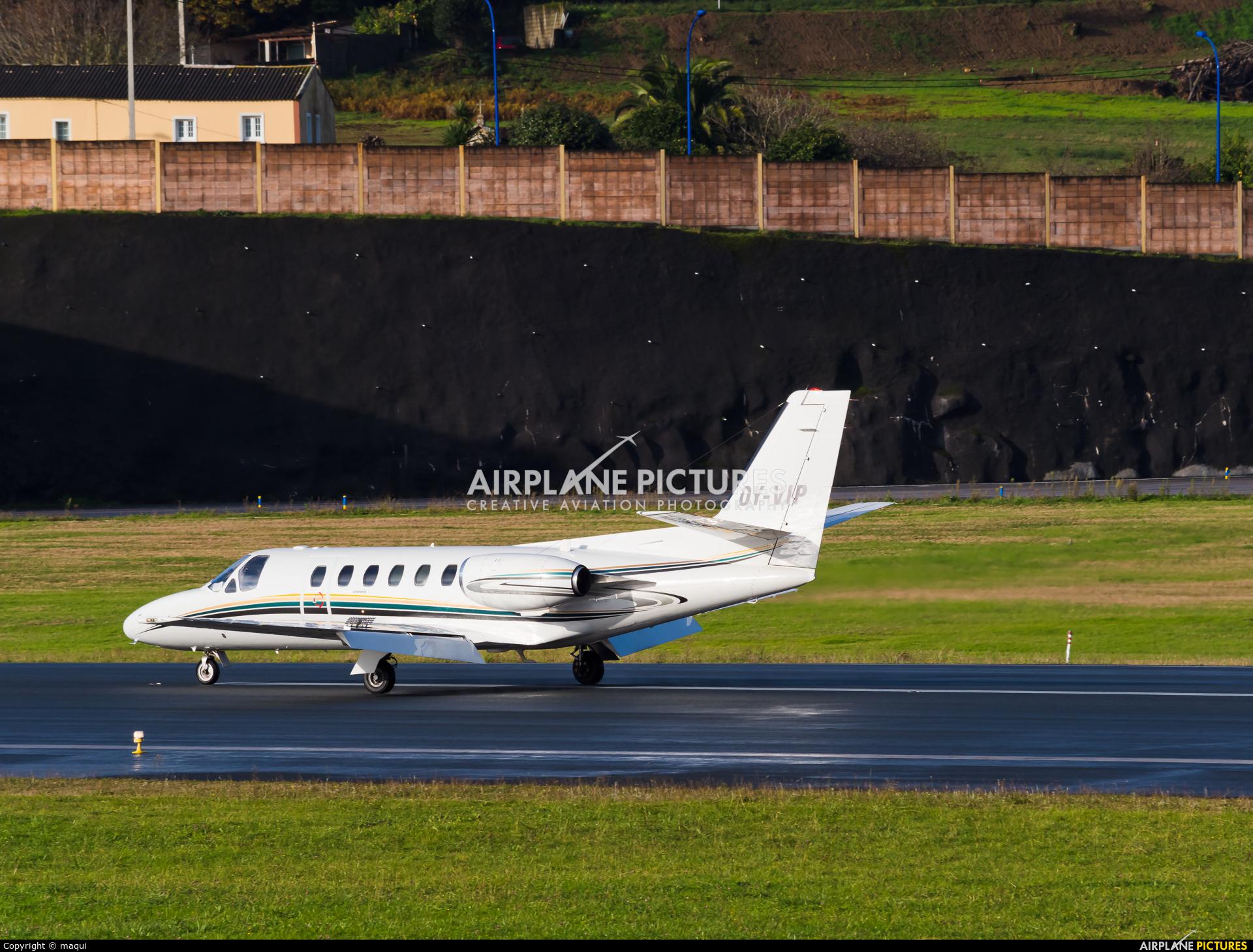 BackBone Aviation OY-VIP aircraft at La Coruña