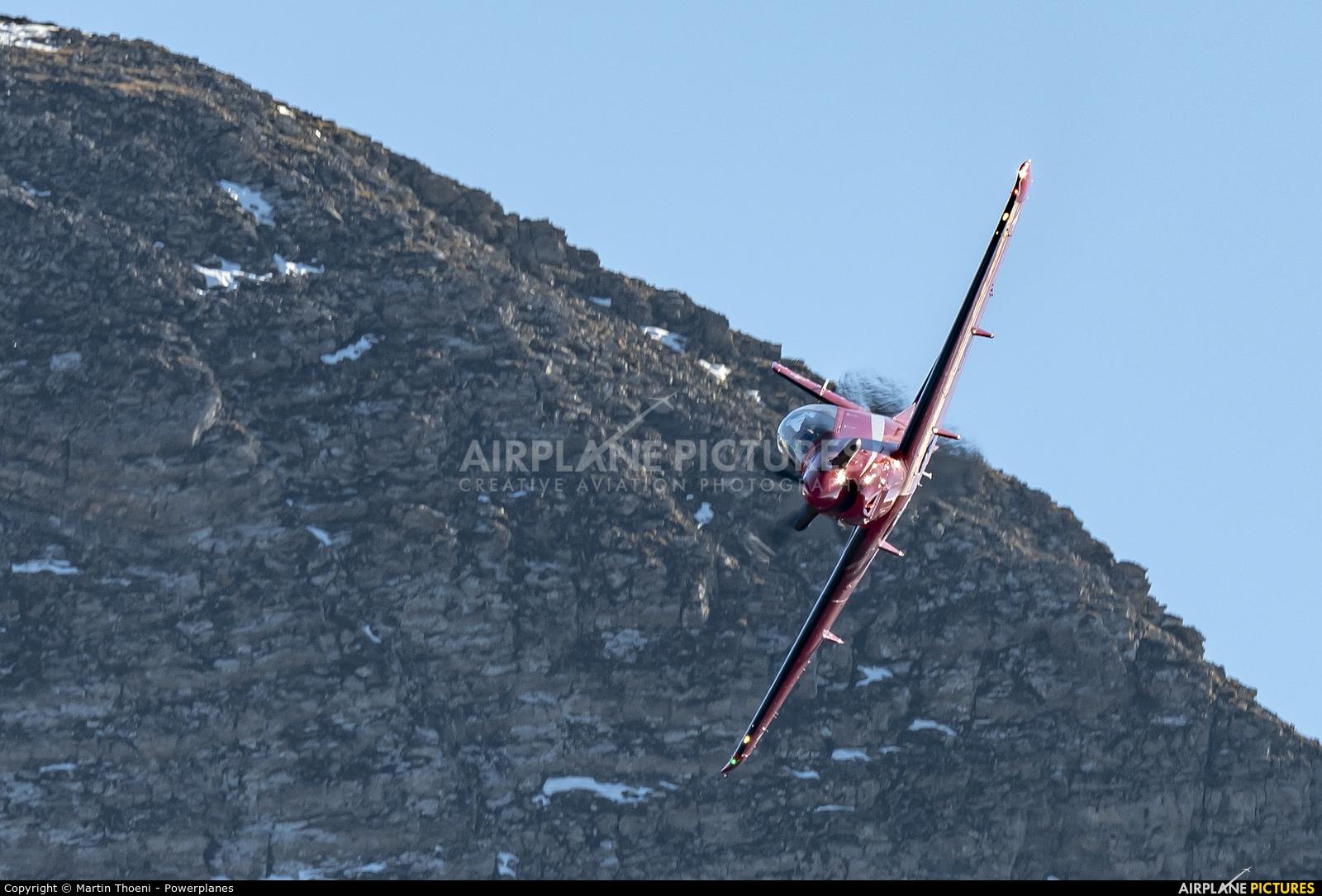 Switzerland - Air Force A-106 aircraft at Axalp - Ebenfluh Range