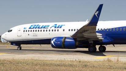 YR-BMG - Blue Air Boeing 737-800