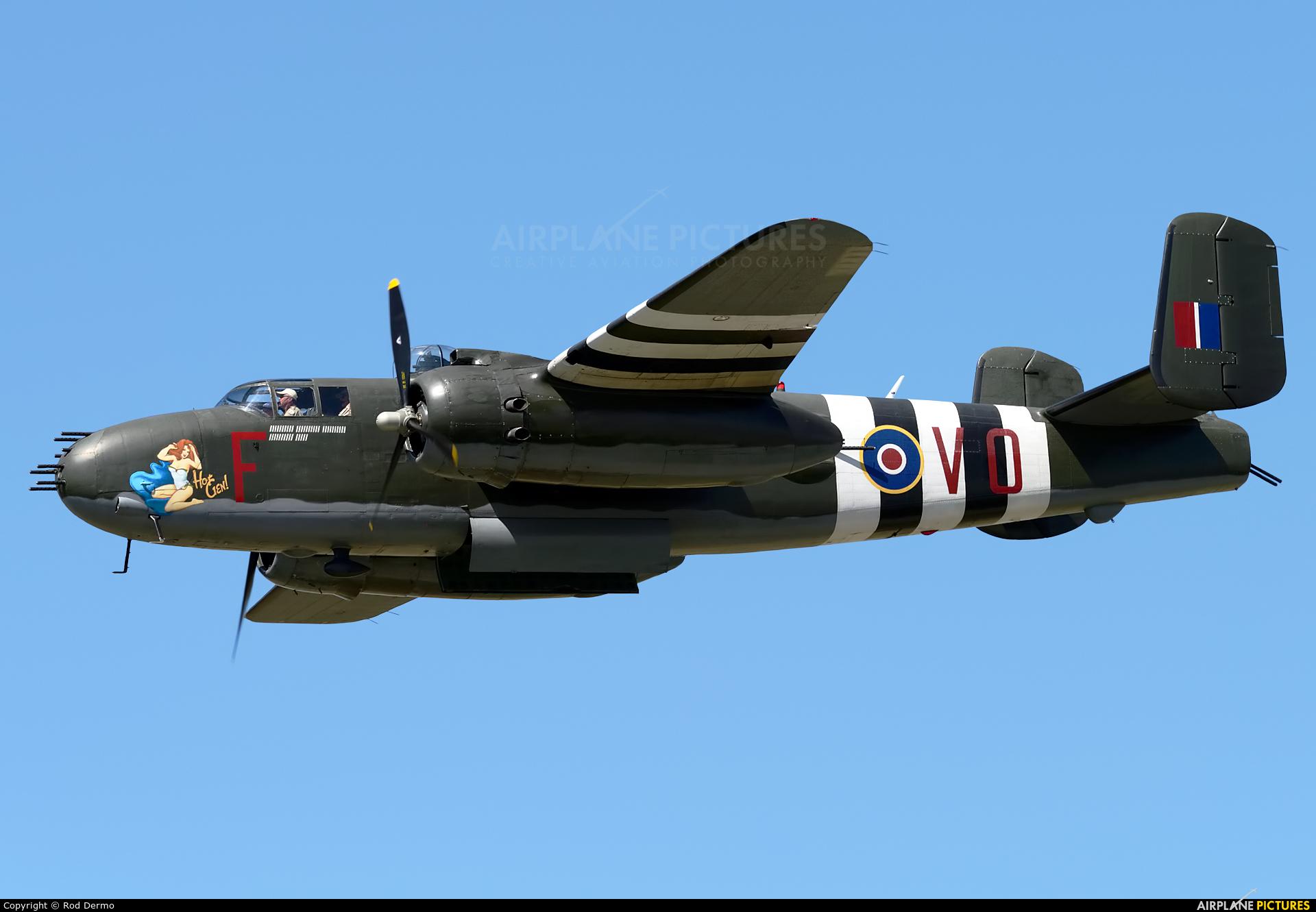Canadian Warplane Heritage C-GCWM aircraft at Brantford, ON