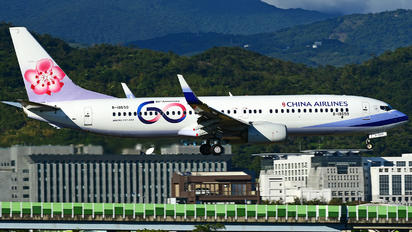 B-18659 - China Airlines Boeing 737-800