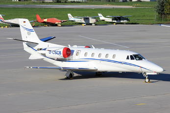 D-CSCB - Silver Cloud Air Cessna 560XL Citation Excel