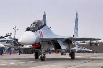 59 RED - Russia - Air Force Sukhoi Su-30SM