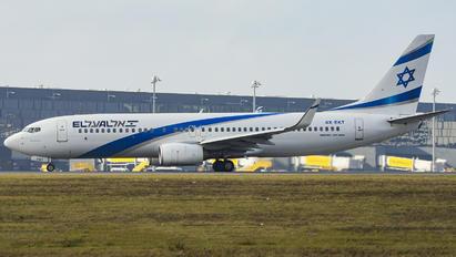 4X-EKT - El Al Israel Airlines Boeing 737-800