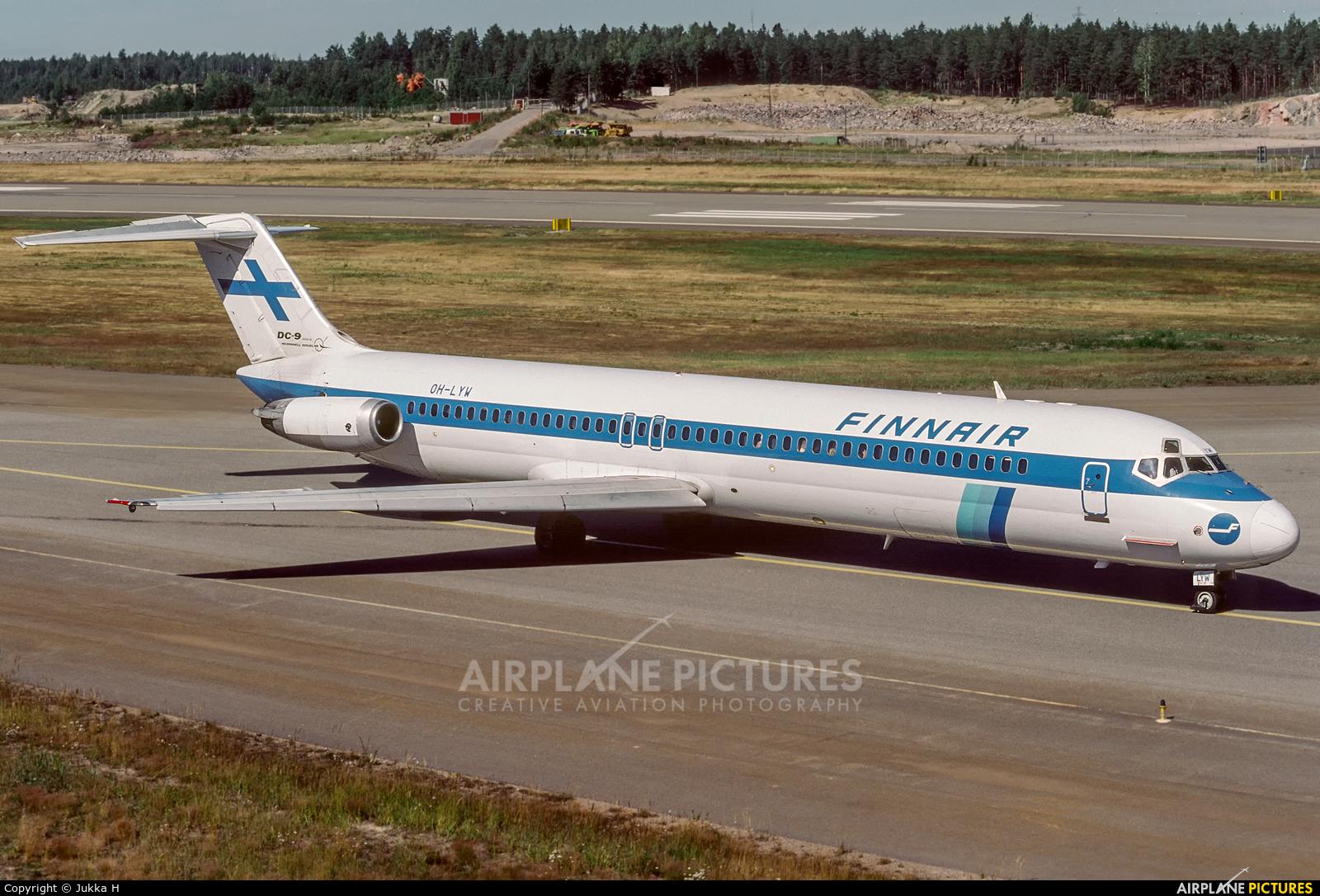 Finnair OH-LYW aircraft at Helsinki - Vantaa