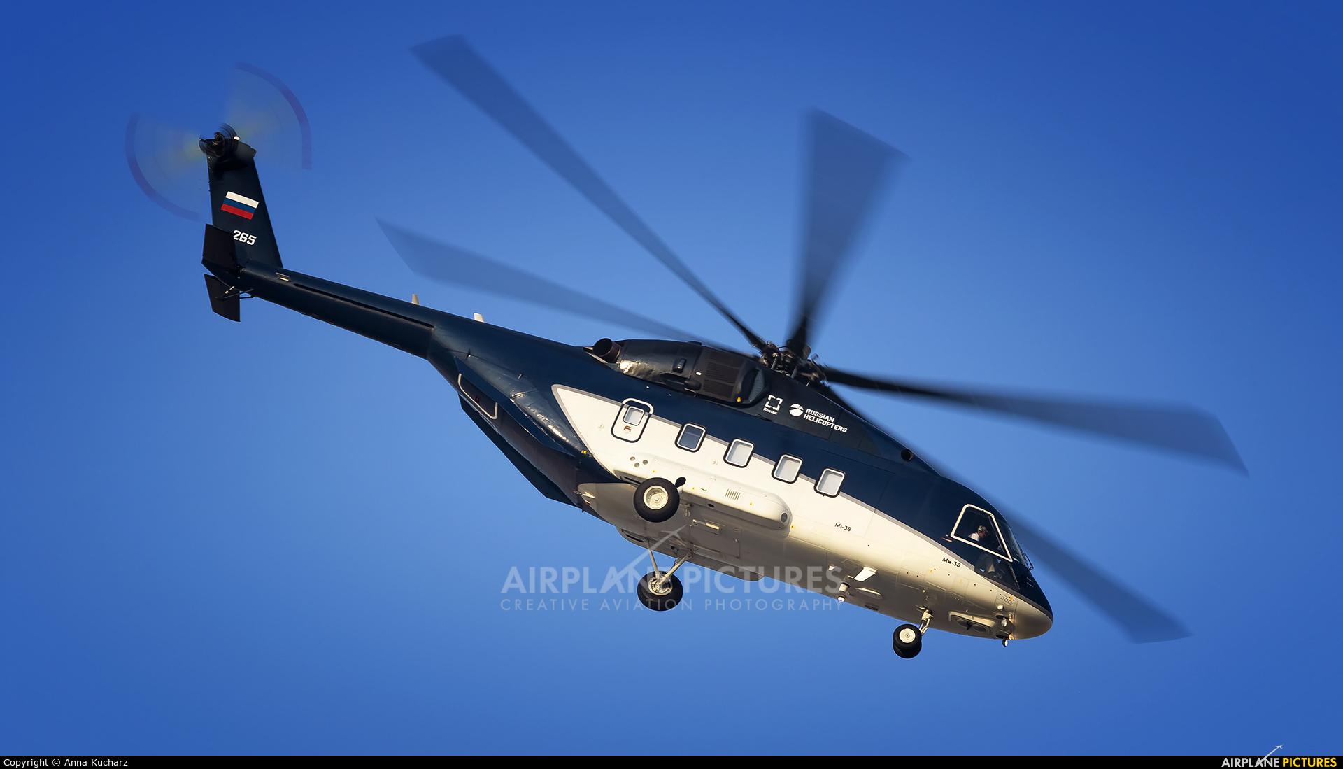 Russian Helicopters 265 aircraft at Jebel Ali Al Maktoum Intl