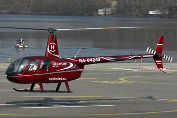 RA-04243 - Private Robinson R44 Clipper
