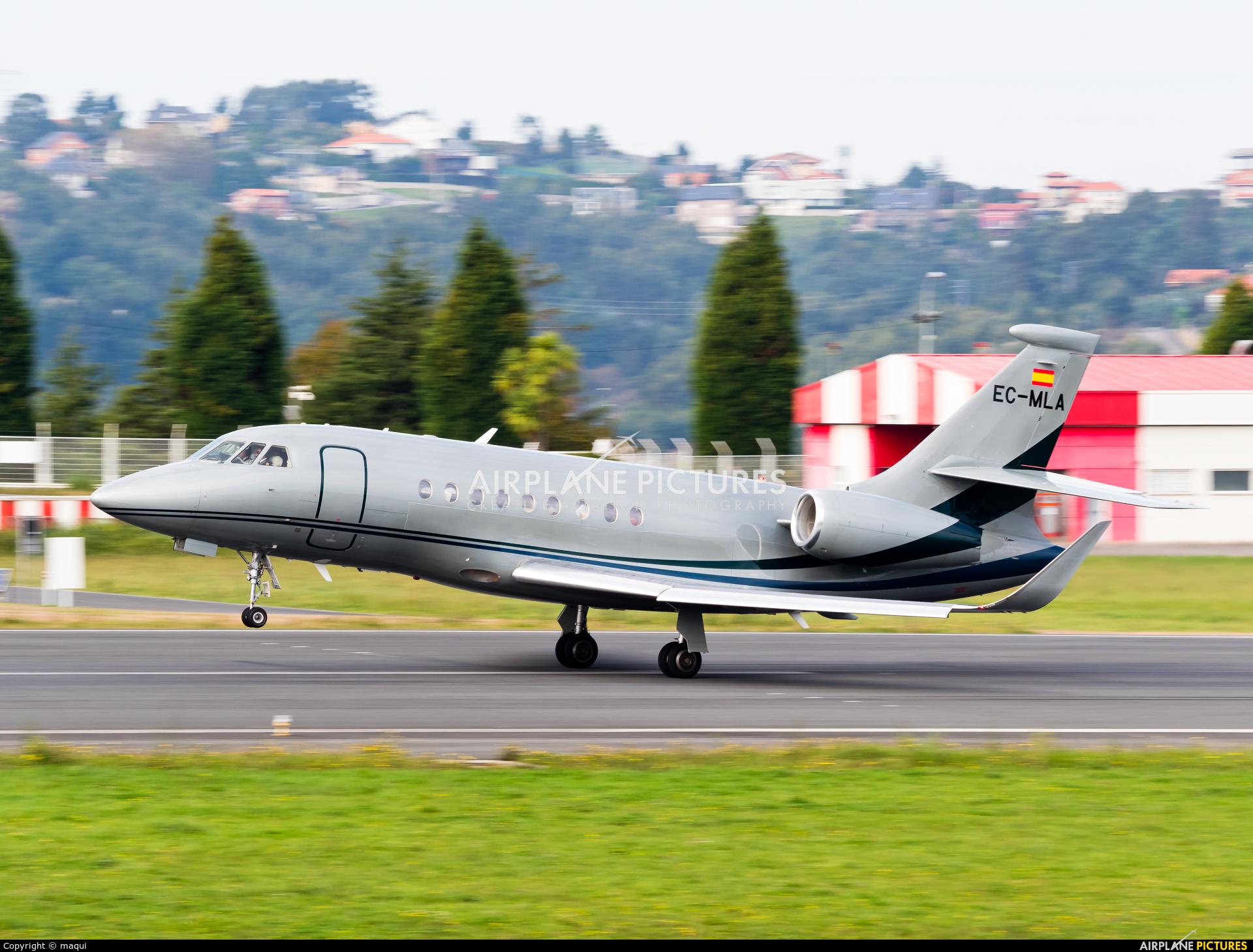 Gestair EC-MLA aircraft at La Coruña