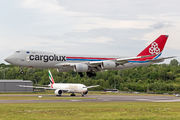 LX-VCL - Cargolux Boeing 747-8F aircraft