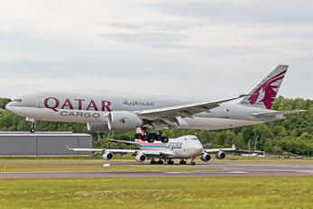 A7-BFN - Qatar Airways Cargo Boeing 777F