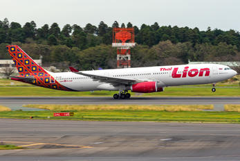 HS-LAH - Thai Lion Air Airbus A330-300