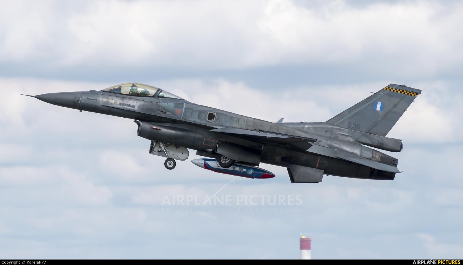 Greece - Hellenic Air Force 536 aircraft at Radom - Sadków