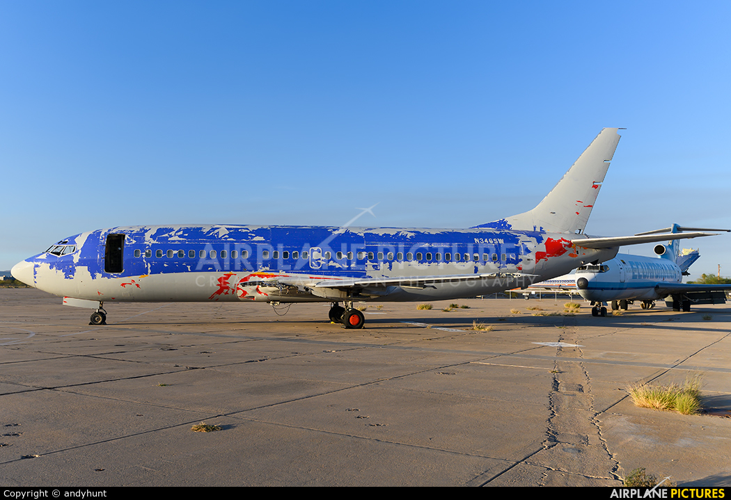 Southwest Airlines N346SW aircraft at Tucson Intl