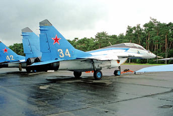 "34 - Russia - Air Force ""Russian Knights"" Mikoyan-Gurevich MiG-29UB"