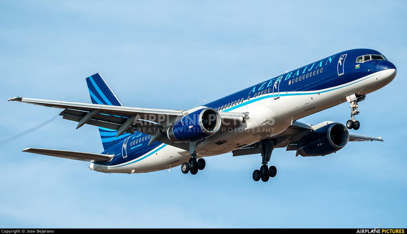 Azerbaijan Airlines 4K-AZ12 aircraft at Seville - San Pablo