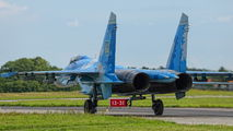 39 - Ukraine - Air Force Sukhoi Su-27 aircraft