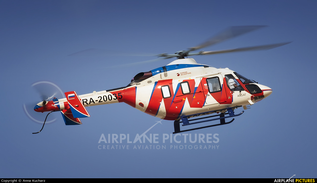 Russian Helicopters RA-20035 aircraft at Jebel Ali Al Maktoum Intl
