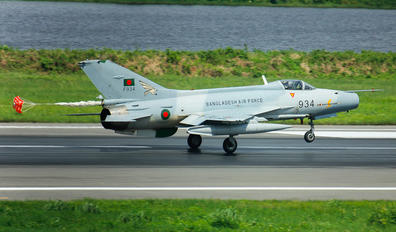 F934 - Bangladesh - Air Force Chengdu F-7BG