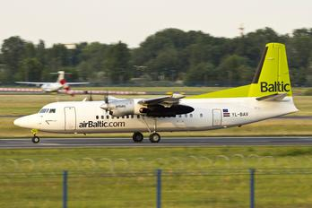 YL-BAV - Air Baltic Fokker 50