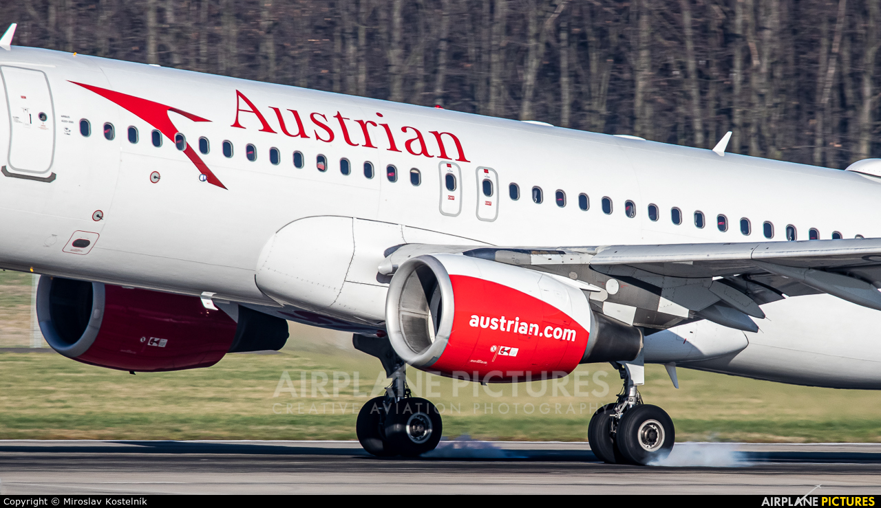 Austrian Airlines/Arrows/Tyrolean OE-LBQ aircraft at Ostrava Mošnov