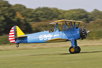 G-CCXB - Private Boeing Stearman, Kaydet (all models)