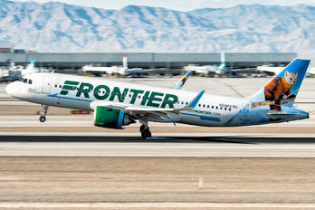 N328FR - Frontier Airlines Airbus A320 NEO