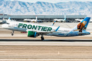 N328FR - Frontier Airlines Airbus A320 NEO aircraft