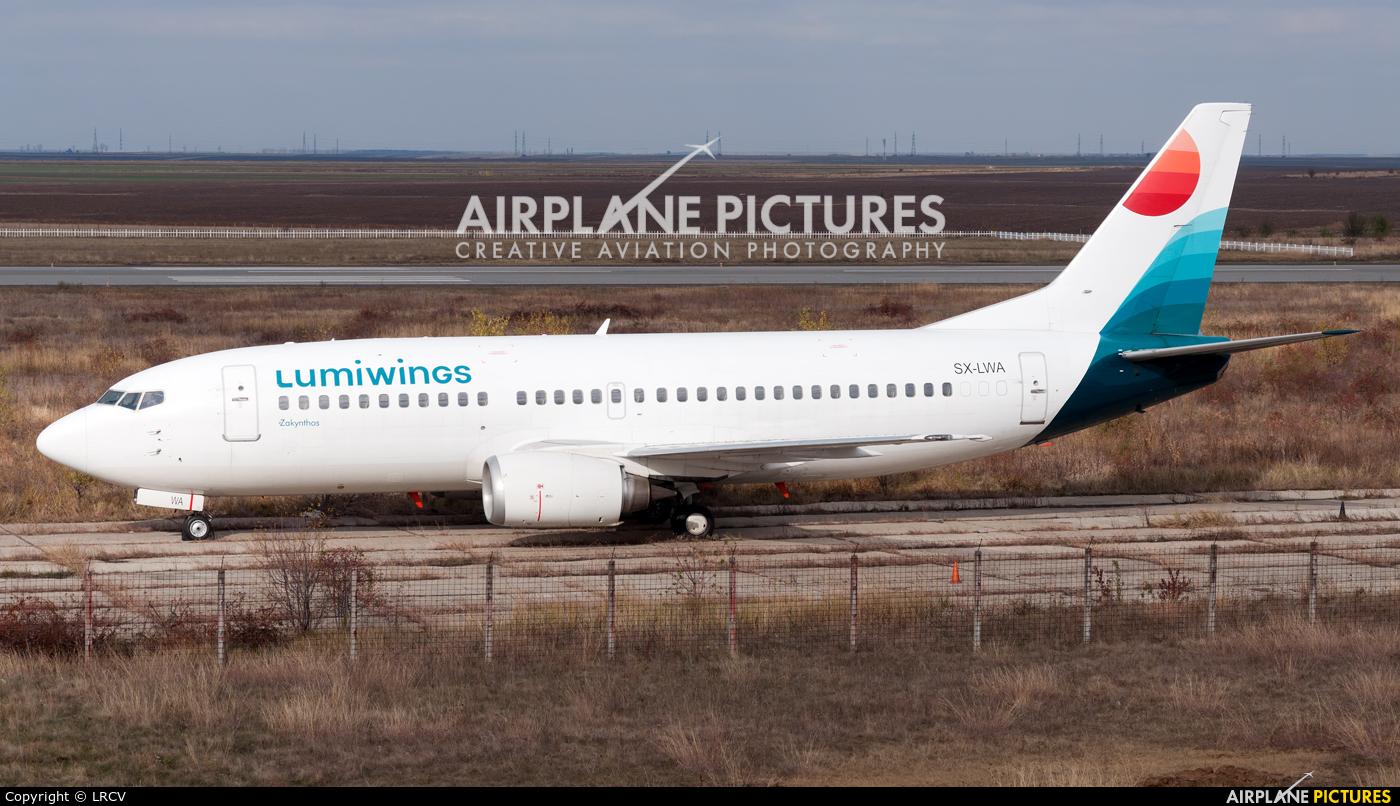 Lumiwings SX-LWA aircraft at Craiova