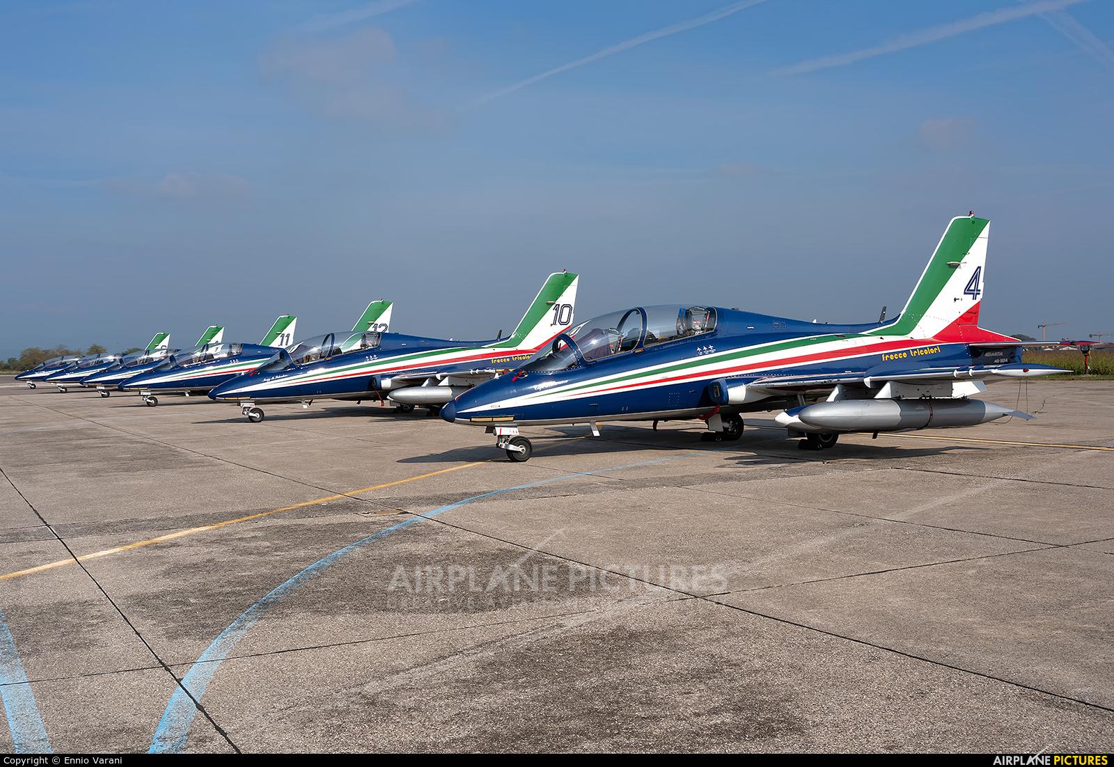 "Italy - Air Force ""Frecce Tricolori"" MM54514 aircraft at Verona - Villafranca"